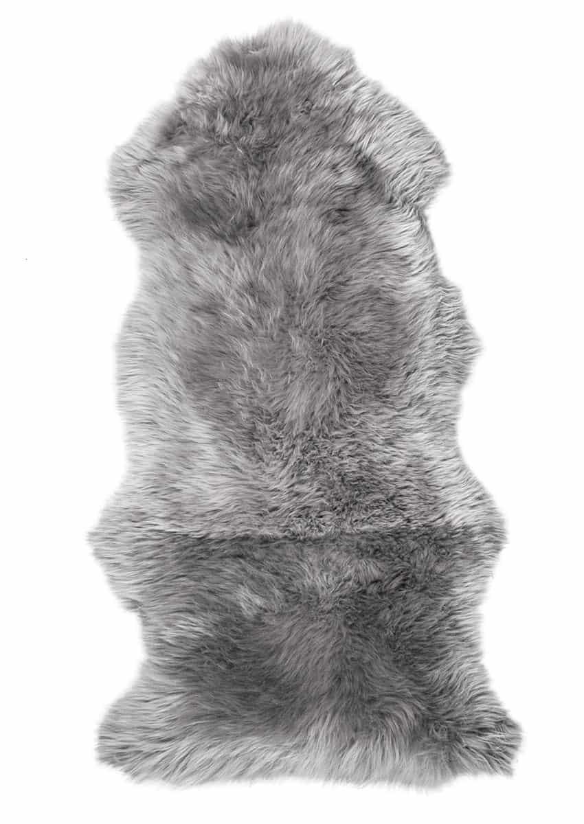 Lammfell 1.5 fach, Grau