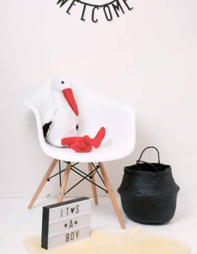 Baby-Medizin-storch