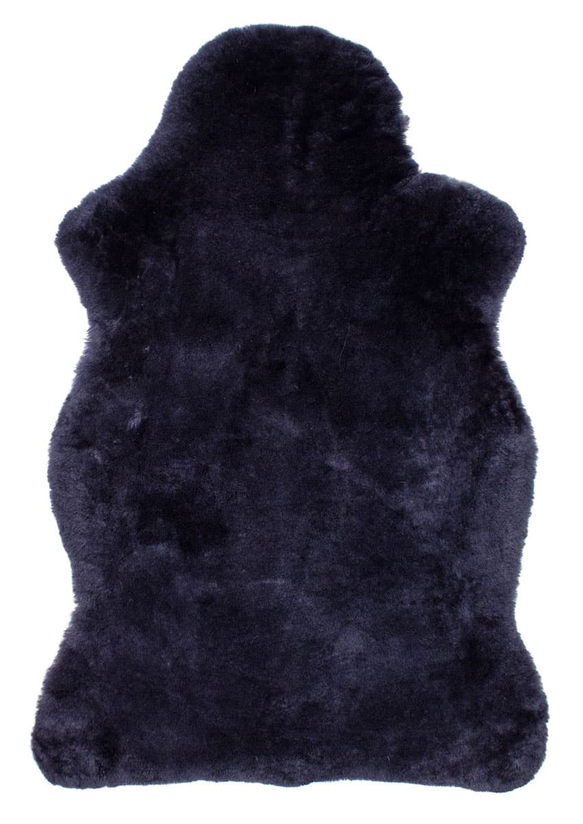 Lammfell kurzwollig, dunkelgrau