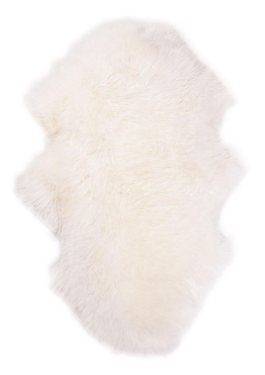 Lammfell, wollweiß, halb kopf-kopf